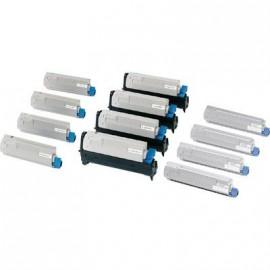mariola caja transferencia cartón forrado en geltex folio 390x255x110 mm color azul ref.16851