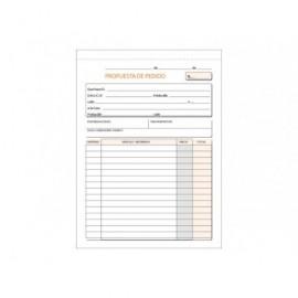 Dossier fastener azul formato folio