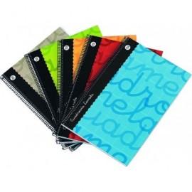 Dossier fastener negro formato folio