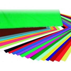 Carpeta colgante A4 visor superior color amarillo Unisystem