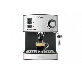 SOLAC Cafetera espresso CE4480 bomba presión 19 bares,pesp:7,8kg. Medidas:315x260x320 mm 324776