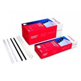PERGAMY Caja 100 Canutillos 10Mm Negro 900075