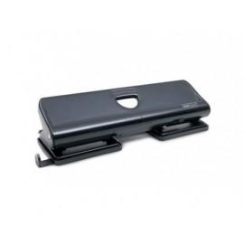 RAPESCO Perforadora 720 Metálica de 4 Agujeros con capacidad para 20 hojas. Color negro. 1054