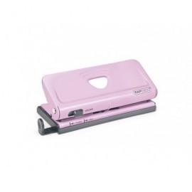 RAPESCO Perforadora ajustable rosa de 6 agujeros para organizadores y diarios. 1322