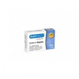 RAPESCO Caja 1000 grapas Galvanizadas 26/6mm. S11661Z3