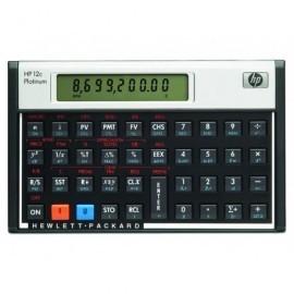 HP Calculadora financiera Negro/Plata Hp-12C Plat/B17