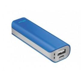 TRUST Powerbank 2.200 mAh para smartphone/tablet Negro Azul 21222
