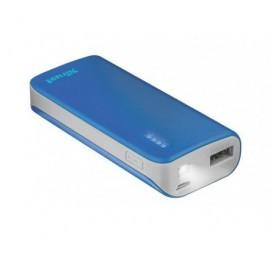 TRUST Powerbank 4.400 mAh para smartphone/tablet Negro Azul 21225