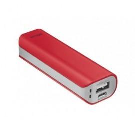 TRUST Powerbank 2.200 mAh para smartphone/tablet Roja 21223