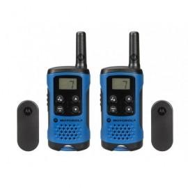 MOTOROLA Walkie-Talkies T41 Pack Azul/4km/8 canales/3xAAA P14MAA03A1BH