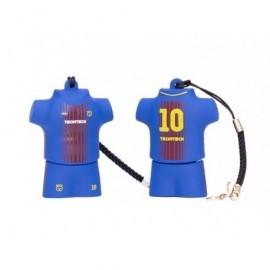 TECHONETECH Memoria USB Equipación fútbol blau-grana 16GB TEC50235-16
