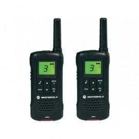 MOTOROLA Walkie-Talkies T60 Pack Black/8km/8 canales/batería recargable P14MAA03A1BD