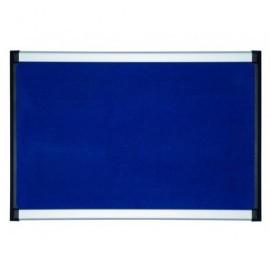 BI-OFFICE Tablero Fieltro Azul 90X120 Pvi050701