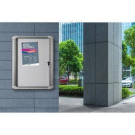 BI-OFFICE Vitrina Magnética Puerta Abatible 12xA4 VT660209760