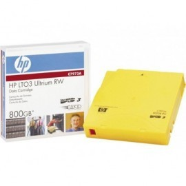 HEWLETT PACKARD Cartucho de datos Ultrium LTO-3 400/800 GB C7973A