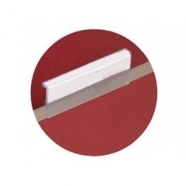 PERGAMY Paquete de 25 visores 69x25mm para carpeta colgante 400063743