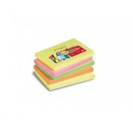 PERGAMY Bloc de notas reposicionables 76x127 colores neon 7100025015