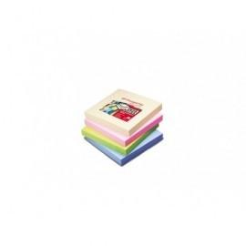 PERGAMY Bloc de notas reposicionables 76x76 colores pastel 7100026834