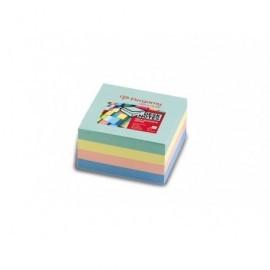 PERGAMY Cubo de notas reposicionables 76x76 colores pastel 7100028755