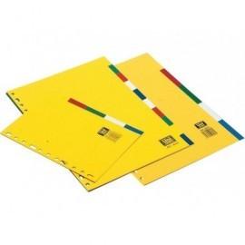 DEFINICLAS Separadores 5 posiciones Folio/A4 95675