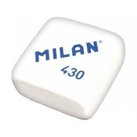 MILAN Goma de borrar 430 Caucho sintet.suave Blanco/rosa/verde Para Lápiz, papel y papel vegetal 430