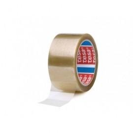 TESA Cinta embalaje 132mX50mm polipropileno Caucho Sintético 04089-00042-06