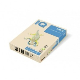 IQ Papel multifunción color 250h 160 g. A4 Crema CR20A416