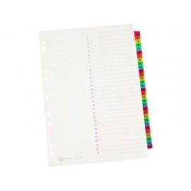 AVERY Separadores 12 posiciones A4 Multitaladro Colores surtidos 5190501