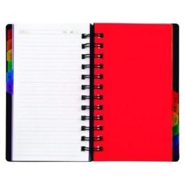 VIQUEL Listin telefonico Rainbow Class 102x172 12 separadores alfabéticos 80708706