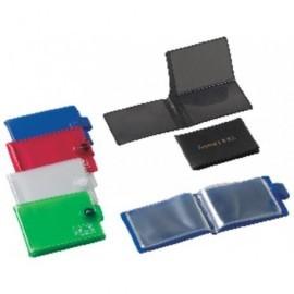 IBERPLAS Portatarjetas 100X70 Con velcro PVC Colores surtidos 1069FL99