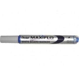 PENTEL Marcador pizarra blanca Maxiflo MWL-5S Trazo 2 mm Punta conica Azul MWL5S-C