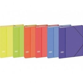 ELBA Clasificador Elbacolor 12 separadores 340x255 Lomo 25 mm Colores surtidos 100580256
