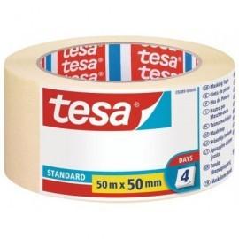 TESA Cintas  Pintor 50mmX50m Para trabajos de pintura 05089-00000-02