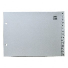 ELBA Separadores alfabeticos A4 Gris TN3330