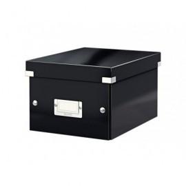 LEITZ Caja almacenamiento Click&Store A5 216x160x282 mm Asas+tarjetero Cartón plastificado 60430095