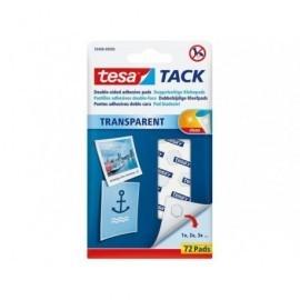 TESA Adhesivo TACK Pastilla 60 pastillas Invisible y reutilizable No residuo  59408-00000-00