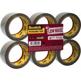 SCOTCH Cinta embalaje  50 mm x 66 m Marron KT000041881