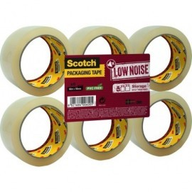 SCOTCH Cinta embalaje  50mmx66m Transparente para almacenar  KT000041873