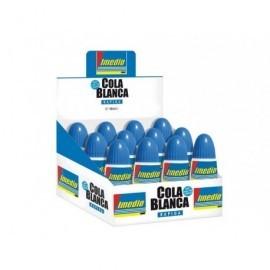 IMEDIO Adhesivo  Cola blanca 40gr Rápida Lavable con agua templada  6304671