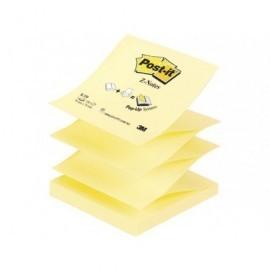 POST-IT Notas adhesivas Z-Notes 100h Amarillo 76 x 76 mm FT510000092