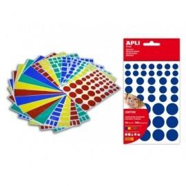 APLI Gomets Blister 20 hojas 968968 Figuras variadas 706