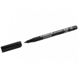 STAEDTLER rotulador permanente retroproyeccion punta media 1 mm negro ref. 317-9