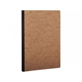 CLAIREFONTAINE Cuaderno Age Bag 96h A5 Liso Negro y havana 79540C