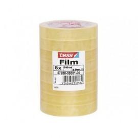 TESA Cinta Adhesiva 19mmx66m Se corta facilmente 57226-00001-00