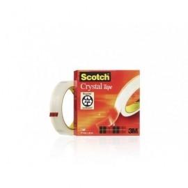 SCOTCH Cinta  Adhesiva 19mmX66 m Se corta facilmente No amarillea 70005242485