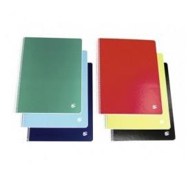 5* Cuaderno 80h 4º Horizontal Surtido 931973