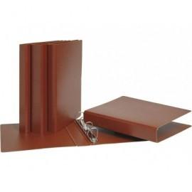 Carpeta anillas cartón cuero folio 4-40 mm, cartón Nº12 931650