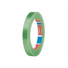 TESA Cinta  Adhesiva PVC Verde 12mm x 66m Apto para sellador bolsas