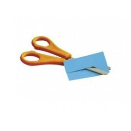 FAIBO Tijeras escolares 13 cm Naranja Zurdos TE13Z