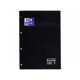 OXFORD Recambio de papel 80h A4 Cuadricula 5x5 RecuadroNegro 100108306